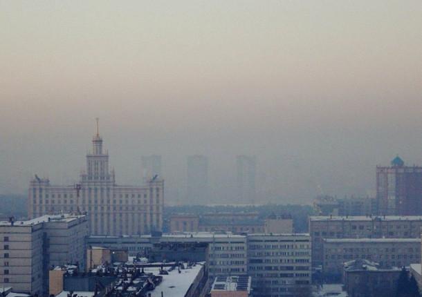 В Челябинске был сильный смог